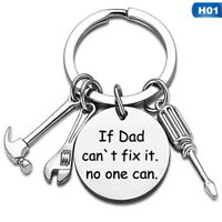 Personalised Birthday Gift For Him Keyring Dad uncle Fathers Day