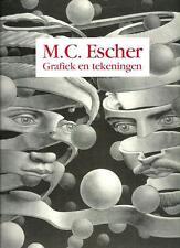 M.C. Escher Grafiek en Tekeningen - 76 illustrazioni a piena pagina - 1989