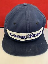Vintage GOODYEAR SnapBack Trucker Hat Cap Patch K PRODUCTS Made in USA