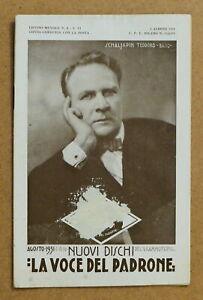 Musica - Catalogo Listino Nuovi Dischi La Voce del Padrone - Agosto 1931