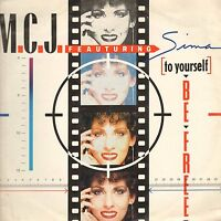 M. C.J (To Yourself) Be Free - Feat SIMA - 1990 - x-Energy - X-12075 - Italy
