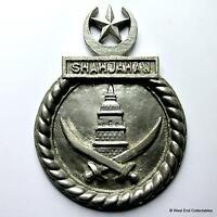 PNS Shah Jahan - HMS Active / Charity - Pakistan Navy Tampion Plaque Badge Crest