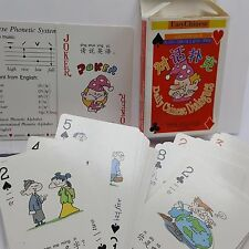 Easy Chinese Playing Cards Complete Language Daily Dialogue New Year China