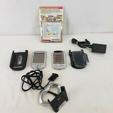 lot of 2 Compaq iPaq 3950 + 3635 Color Pocket Pc Pda Touchscreen Outlook 2000