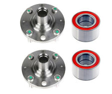 2 Front Wheel Hub Bearing Kits Chevrolet Aveo Aveo 5 Spark Wave Left and Right