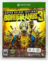 Borderlands 3 Super Deluxe Edition - Xbox One - Brand New | Factory Sealed