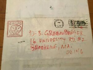 MAIL ART Blaster Al Ackerman correspondence 1980 Laurel McElwain