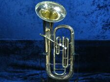 .The Martin Imperial 3 Valve Baritone Horn Ser#714630 Plays Great w/Round Sound.