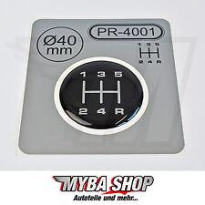1x Schalthebel Silikon Aufkleber für Schaltknauf 3D Sticker | ∅=40mm | PR-4001