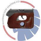 Leather Pocket Holster Kahr, Ruger, Taurus, Colt, Sig, Springfield  Ambidextrous