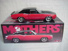 MOTHERS WAX 1969 CHEVROLET CAMARO 1/18 STREET FIGHTER NICE RARE GMP 996 PCS NIB