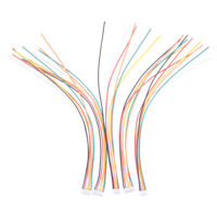 5Pcs Mini Micro JST 2.0mm PH 6-Pin Male Connector Plug Wires Cables 200mm BSCA