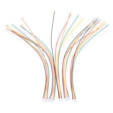 5Pcs Mini Micro JST 2.0mm PH 6-Pin Male Connector Plug Wires Cables 200mm E&F