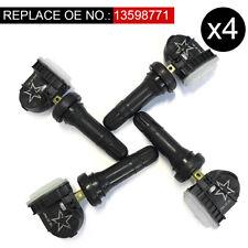 X4 TPMS Fit Chevrolet GMC Acadia 13598771 13598772 15254101 Tire Pressure Sensor