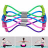 Stretch Band Rope Latex Rubber Arm Resistance Fitness Exercise Pilates Yoga Gym-