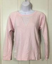 Lacoste Women's Size 32 Pink Pullover Sweatshirt Crewneck Longsleeve
