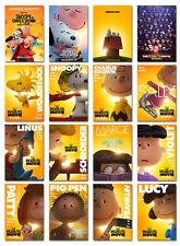 the peanut movie snoopy Movie Postcard Set 16pcs