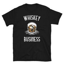 Alcoholic Beverage Scotch Bourbon Whiskey Business Short-Sleeve Unisex T-Shirt