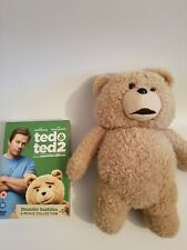 Ted 1+2 Dvd Boxset And Talking ted soft toy