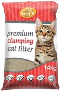 Feline First Clumping Cat Litter 14kg