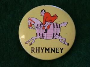 Vintage RHYMNEY Brewery lapel Badge