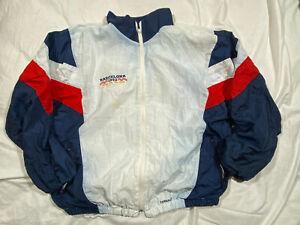 USA Women's Soccer Olympics 1992 Barcelona Going For The Gold Full Zip Jacket XL