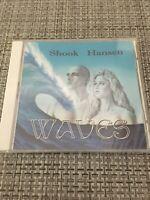 RARE Still Sealed New PRIVATE PRESS CD psych rock prog Shook Hansen Waves Album