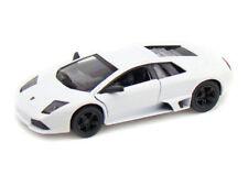 "5"" Kinsmart Lamborghini Murcielago LP640 Diecast Model Toy Car 1:36 White"