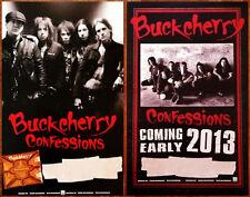 BUCKCHERRY Confessions 2013 Ltd Ed New 2 Posters Lot +FREE Rock/Alt/Metal Poster
