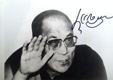 dalai lama signed autograph 8x10 photo JSA (James Spence) COA LOA