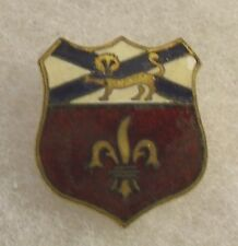 WWII 242ND COASTAL ARTL CORPS VARIANT DI/DUI SCREW BACK