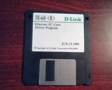Floppy Disk D-Link DE-660 Ethernet PC Card Driver Program Jun.15.1999