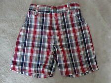 New Boys Izod Plaid Shorts Size 18 Months