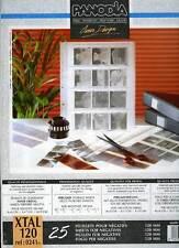 PANODIA XTAL 120  jeu de 25 feuillets cristal négatifs