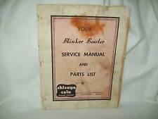 Blinker Bowler Manual Original