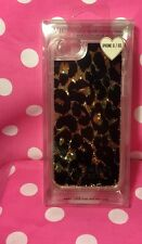 Victoria's Secret Leopard Print Case Cover For iPhone 6/6s Water Glittery NWT