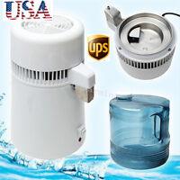 750W Water Clean Filter Purifier Distiller Distilled Machine Home Kitchen clinic