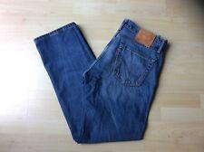Men's LEVIS 505 Blue Straight Leg Jeans, Size: W - 34    L- 32