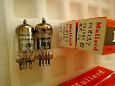 CV4004 M8137 ECC83 Mullard 85 14 Platinum Matched Pair B NOS Valve Tube F19