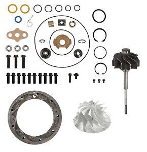 PowerMax Turbo Rebuild Kit 11 Billet Turbine Vanes for 03-07 6.0L Powerstroke