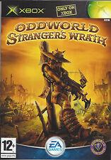 ODDWORLD STRANGER'S WRATH for Xbox - PAL - manual in Dutch