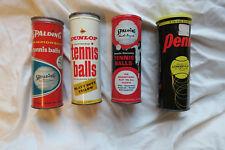 Tennis Ball Cans, Metal tennis cans, Collectible tennis, Vintage tennis