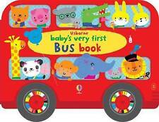 Baby's Very First Bus Book by Fiona Watt (Board book, 2017)