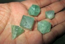 Jet Green Flourite Sacred Geometry Sets Free Booklet Crystal Therapy