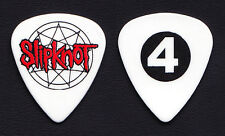 Slipknot Jim Root #4 White Guitar Pick - 2015 Tour