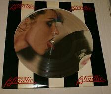 Blondie Parallel Lines Picture Disc Version 1st Press 1978 Debbie Harry Vg+/Vg+