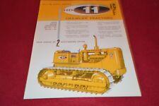 Allis Chalmers HD-11 EC & E Crawler Tractor Dealer's Brochure YABE14 ver32