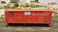 Athearn BB 40' Modern Grain Boxcar, Burlington, Upgraded, Exc