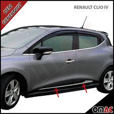 Renault Clio IV ab 2012 Grandtour IV Chrom Seitenleiste Türleisten aus Edelstahl