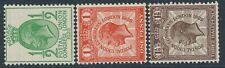 SG 434a/436a 1929 ½d - 1½d Sideways watermark very lightly mounted mint CAT £210
